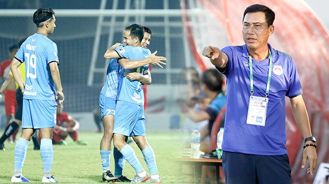 bóng đá Việt Nam, kết quả bóng đá hôm nay, lịch thi đấu vòng 9 V League, BXH V League, HLV Hứa Hiền Vinh, phạt HLV bóp cổ cầu thủ, trực tiếp bóng đá