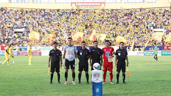 VFF chỉnh lại công tác trọng tài V-League