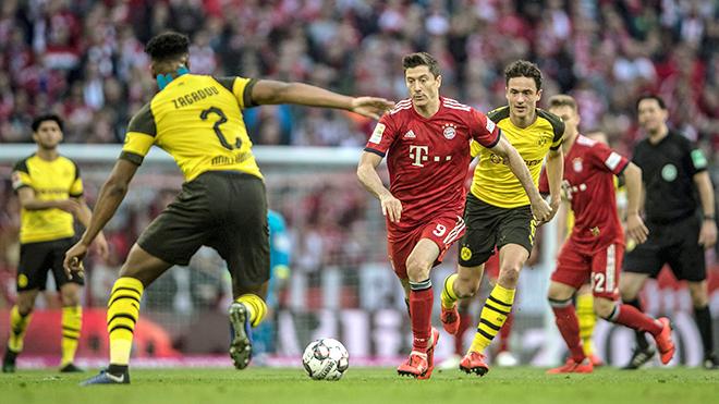 Bundesliga vòng 27: Bản năng Bayern Munich hay cảm xúc Borussia Dortmund?