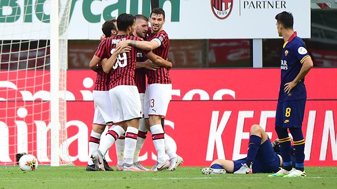 Lịch thi đấu bóng đá Ý, Milan 2-0 Roma, Bộ mặt mới của Milan, BXH Serie A. Milan, bóng đá Ý, bóng đá Italia, AC Milan, truc tiep bong da, lịch thi đấu bóng đá, bóng đá