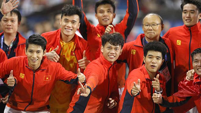 U22 Việt Nam giành HCV SEA Games, video U22 Việt Nam 3-0 U22 Indonesia, U22 Việt Nam vs U22 Indonesia, SEA Games 30, SEA Games 2019, U22 Việt Nam, U23 châu Á, bong da