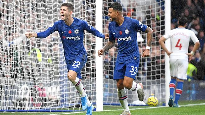 Bong da, bóng đá, ket qua bong da, Chelsea vs Crystal Palace, kết quả Ngoại hạng Anh, BXH Ngoại hạng Anh, cuộc đua vô địch, cuộc đua Top 4, lịch thi đấu Chelsea, Lampard