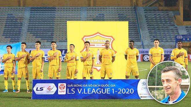 Nam Định, V League, HLV Nguyễn Văn Sỹ