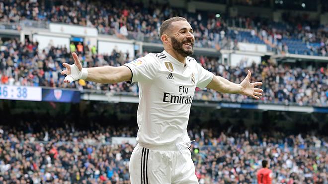 Real Madrid bớt nỗi lo nhờ 'cái đầu vàng' Karim Benzema