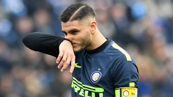 Inter: Vỡ mộng vì Icardi?