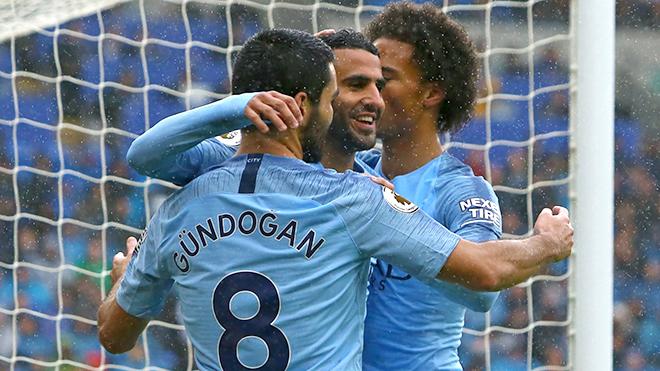 Guendogan và Mahrez là điển hình cho chiều sâu của Man City