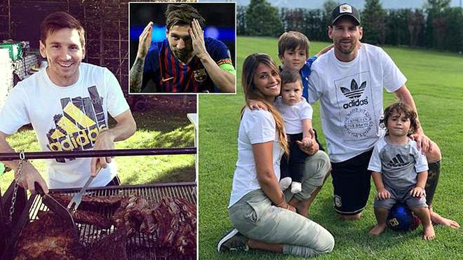 Lionel Messi: Từng mê coca, đồ ăn nhanh, và ăn uống vô tội vạ