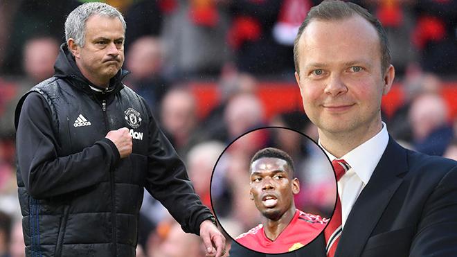 Mourinho không thể thắng cả Pogba lẫn Woodward