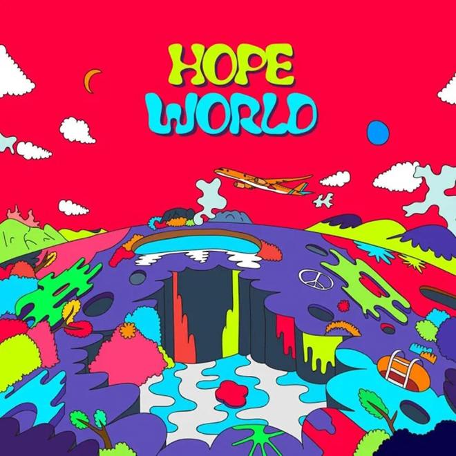 BTS, Chủ tịch Namjoon, Jungkook, Jimin, Suga, Jin, HOPE WORLD, D-2, mixtape