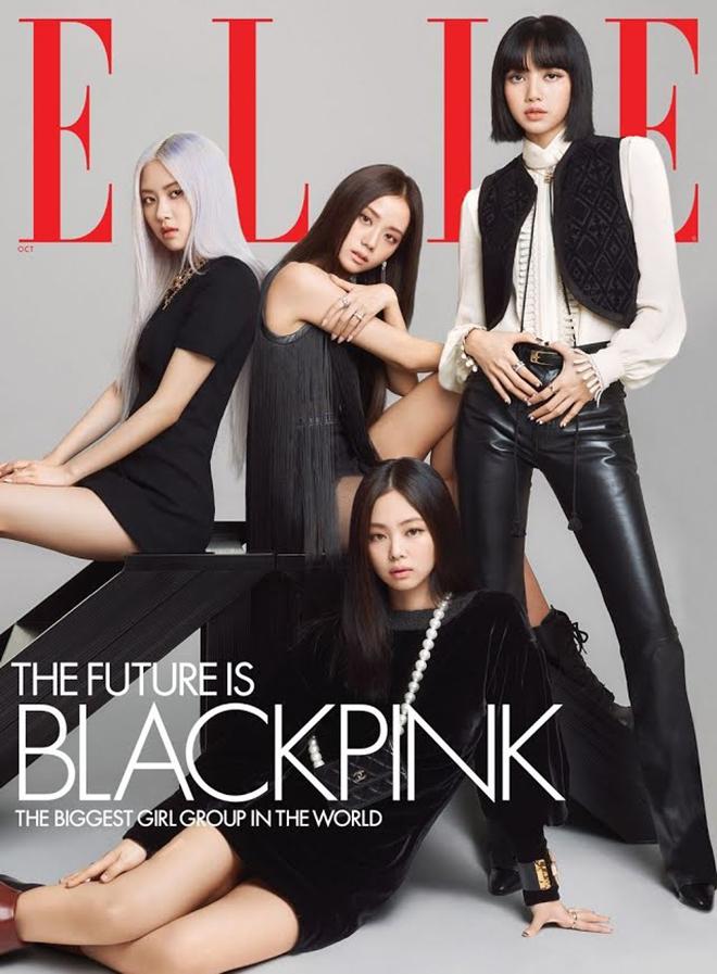 Blackpink, Blackpink sành điệu trên ELLE US, Spice Girls, ELLE US, Chanel, Dior