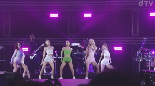 Blackpink, Jennie, Jennie trang phục nhức mắt, Lisa, Rose, Jisoo Blackpink, Jennie Blackpink lại mặc trang phục sân khấu gây nhức mắt, fan phàn nàn, Jennie Blackpink