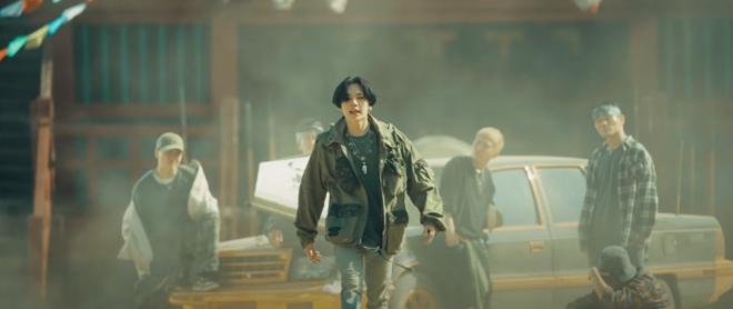 BTS, Suga, Agust D, MV Daechwita, Vết sẹo của Suga, Yoongi, Scarface