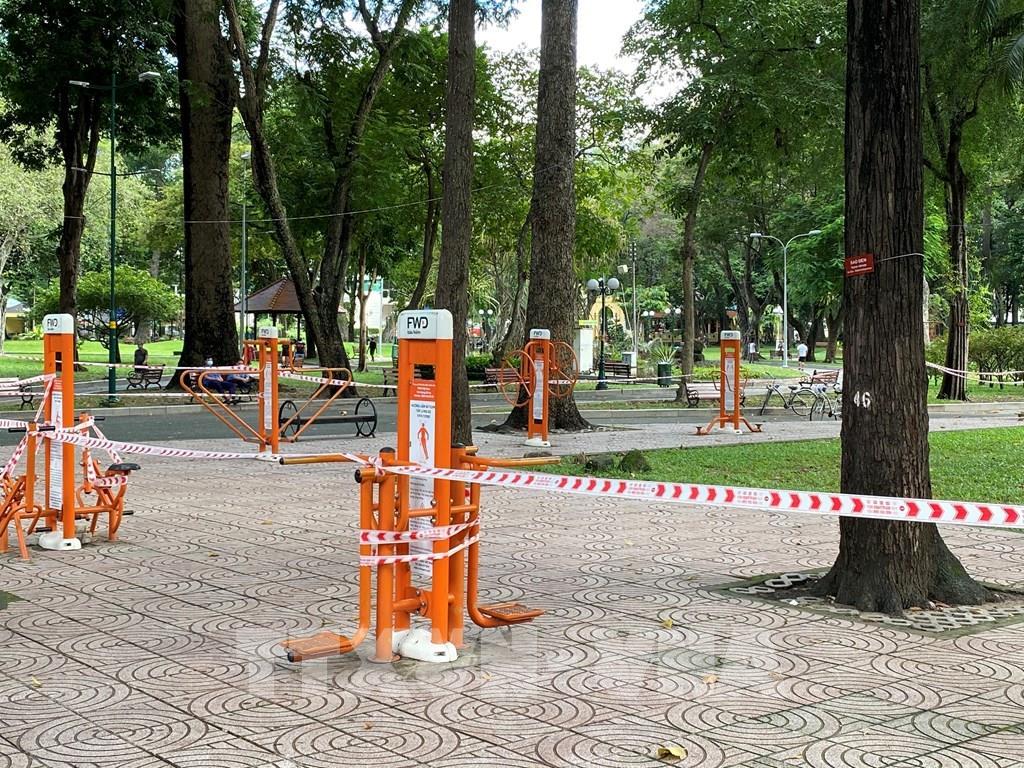 Tạm dừng các hoạt động tại công viên