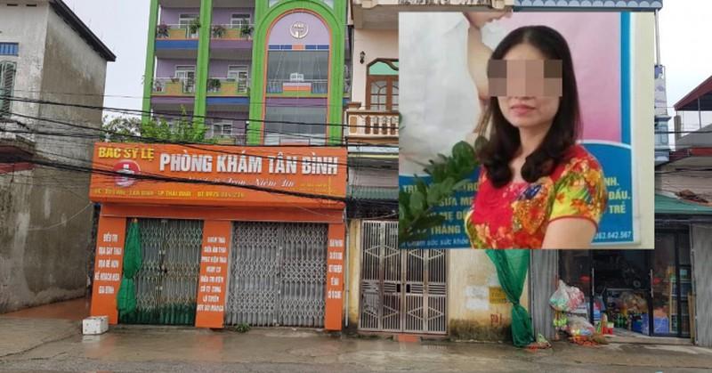 Chử Thị Mỹ Lệ là bác sĩ bệnh viện Đa khoa huyện Vũ Thư