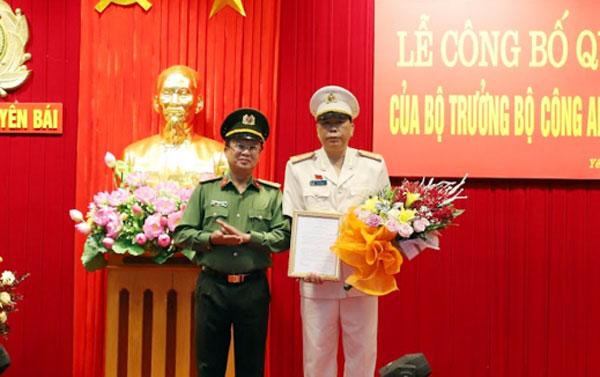 bổ nhiệm Đại tá Đặng Xuân Quỳnh, Trưởng phòng 4 - Văn phòng Cơ quan Cảnh sát điều tra, Bộ Công an, giữ chức Phó Giám đốc Công an tỉnh Yên Bái.