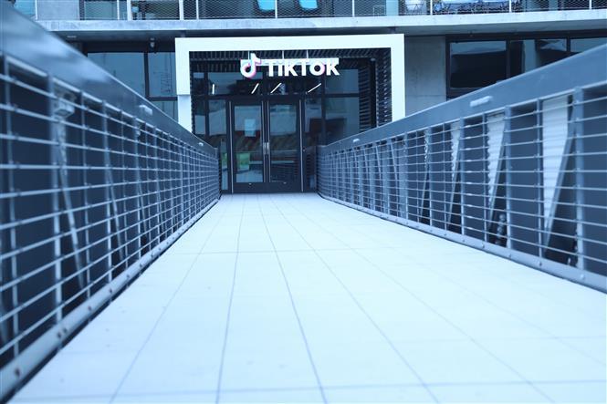 Văn phòng TikTok tại thành phố Culver, Los Angeles, Mỹ, ngày 21/8/2020. Ảnh: THX/ TTXVN