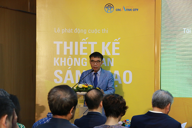 TS.KTS Phan Đăng Sơn, Chủ tịch Hội Kiến trúc sư Việt Nam.