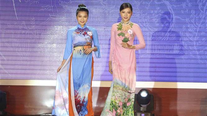 Chung kết và lễ trao giải cuộc vận động thiết kế 'Tự hào áo dài Việt'