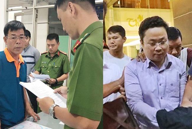 hai bị cáo Nguyễn Hải Nam (nguyên Phó Chánh án Tòa án nhân dân quận 4, Thành phố Hồ Chí Minh) vàLâm Hoàng Tùng(nguyên giảng viên Trường Đào tạo bồi dưỡng nghiệp vụ kiểm sát tại Thành phố Hồ Chí Minh)