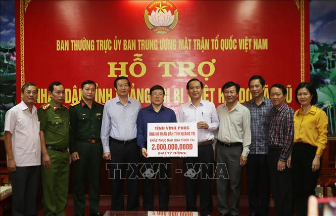 Ban Cứu trợ Trung ương phân bổ 45 tỷ đồng hỗ trợ 11 tỉnh miền Trung, Tây Nguyên