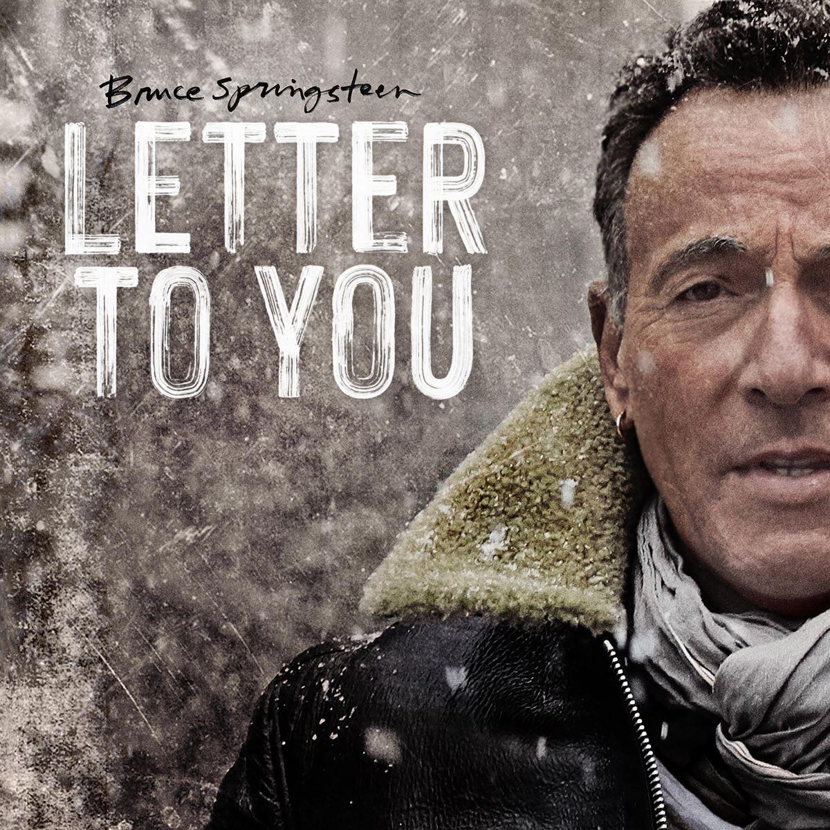 "Springsteen trên bìa album ""Letter To You"""