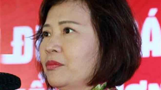 Thi hành kỷ luật bà Hồ Thị Kim Thoa, nguyên Ủy viên Ban cán sự đảng, nguyên Thứ trưởng Bộ Công Thương