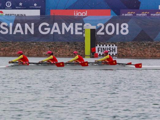 Rowing giải khát 'Vàng' cho Đoàn Thể thao Việt Nam