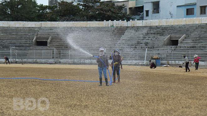 Bình Định mượn sân thi đấu 2 vòng đầu tiên V-League 2021