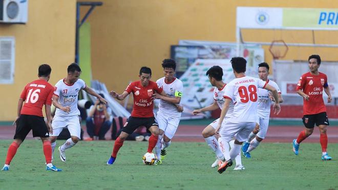 4 phút phản lưới 2 lần, Long An dâng vé lên V-League cho Viettel