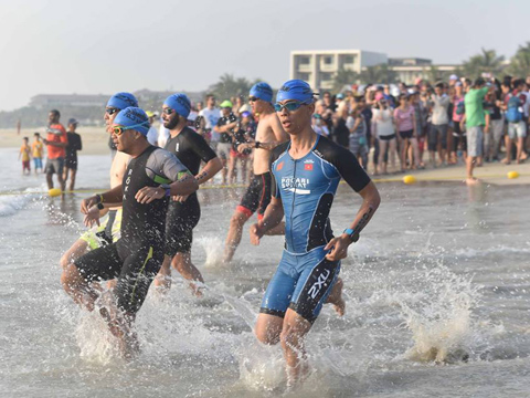 Ironman 70.3 là cuộc thi khắc nghiệt nhất thế giới. Ảnh: TC