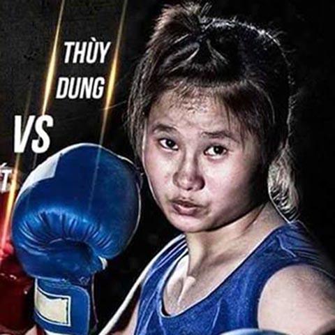 Cô từng là võ sĩ có tiềm năng của boxing nước nhà. Ảnh: LG