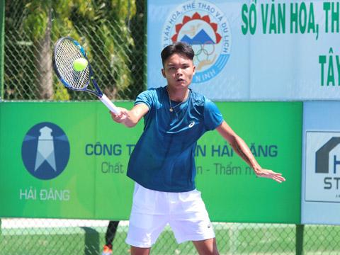Tay vợt Trịnh Linh Giang. Ảnh: TT