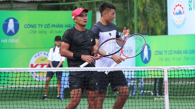 Lý Hoàng Nam so tài với Trịnh Linh Giang ở Men's Future