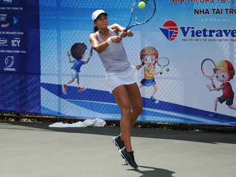 Tay vợt trẻ triển vọng Nguyễn Phan Yên Tích. Ảnh: TT