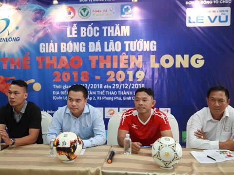 Buổi họp báo công bố giải diễn ra sáng 24/11 tại TTTT Thành Long TP.HCM. Ảnh: Thiên Long