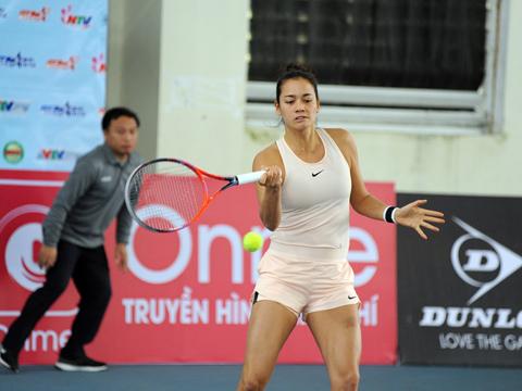 Alize Lim có thể sẽ lại không có đối thủ khi về nước thi đấu. Ảnh: TT