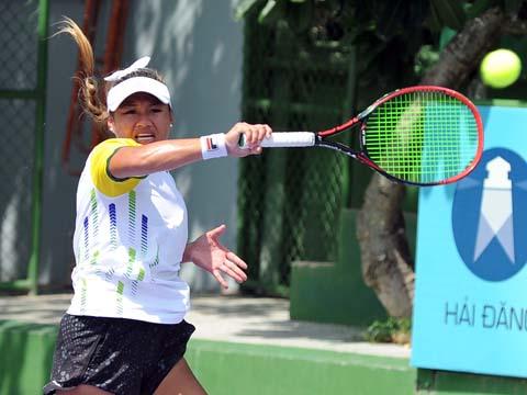 Tay vợt Việt kiều Chanelle Van Nguyễn. Ảnh: TT