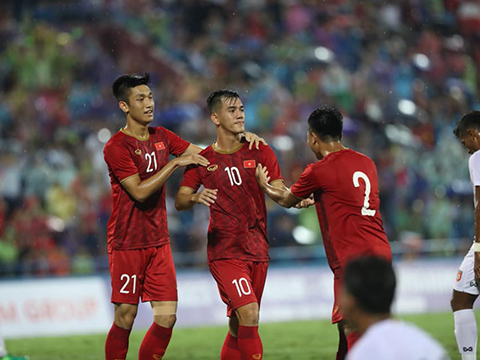 U23 Việt Nam cần thêm những trận giao hữu với đối thủ mạnh hơn. Ảnh: Hoàng Linh