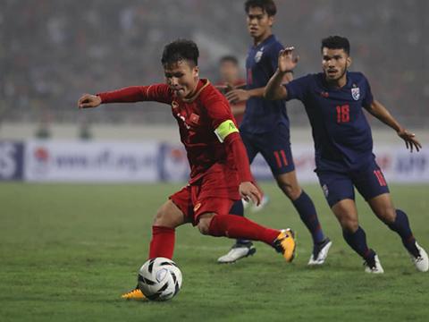 Quang Hải và đồng đội rất cần cái tài của HLV Park Hang Seo cho những kế hoạch dài hơi. Ảnh: Hoàng Linh