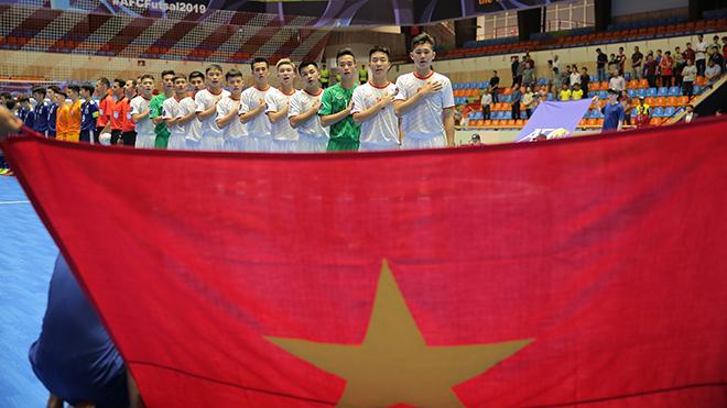 Thua sát nút Nhật Bản, Việt Nam gặp Indonesia ở tứ kết giải U20 futsal châu Á