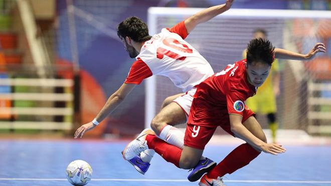 Futsal Việt Nam vào tứ kết ở U20 châu Á