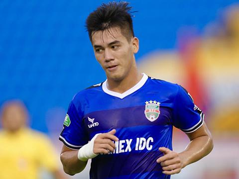 Tiến Linh không thể phục vụ cho B.Bình Dương sau khi trở về từ U23 Việt Nam. Ảnh: VPF