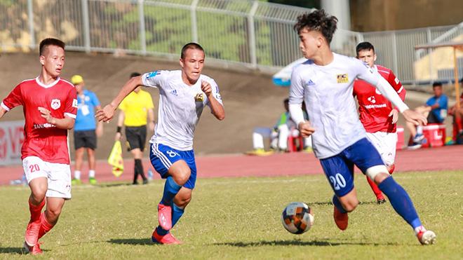 Tuyển thủ U23 Việt Nam lại toả sáng ở giải hạng Nhất