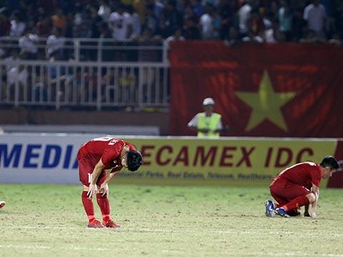 U18 Việt Nam đã không để lại nhiều ấn tượng ở giải đấu họ có ưu thế lớn trên sân nhà lần này. Ảnh: Tuấn Hữu