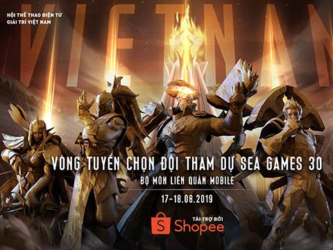 Nhà vô địch giải đấu sẽ được đại diện Việt Nam dự SEA Games 30. Ảnh: BTC