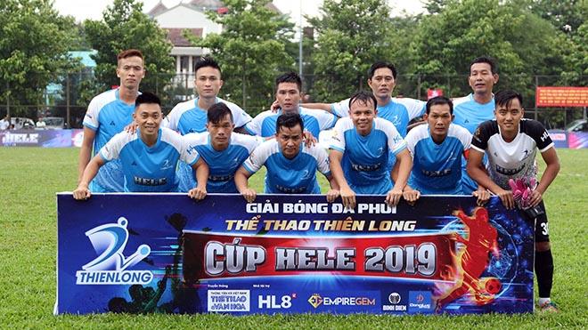 Với 8 điểm, FC Tân Phú đang gây áp lực lớn cho đội đầu bảng Minh Nhật FC. Ảnh: Đình Viên