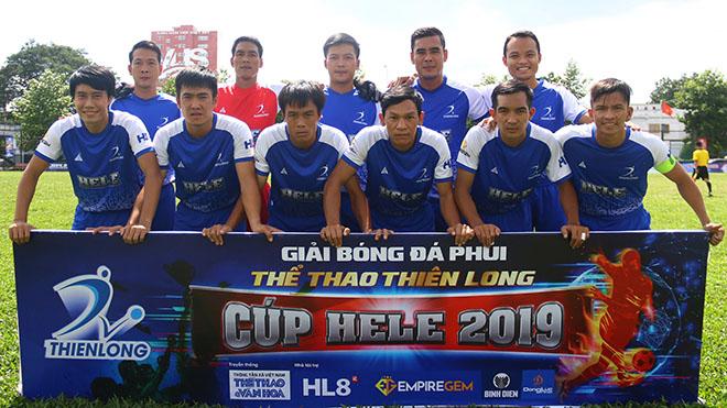 Kịch tính ở Giải bóng đá 'phủi' Thể thao Thiên Long Cúp Hele 2019