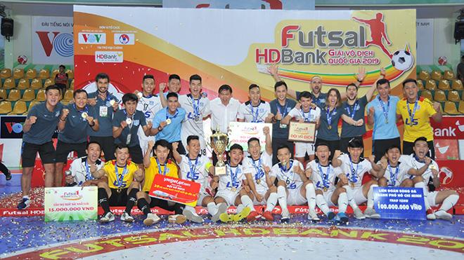 CLB Thái Sơn Nam vẫn là nòng cốt của đội tuyển futsal Việt Nam dự giải vô địch Đông Nam Á diễn ra trên sân nhà tháng 10 tới. Ảnh: BD