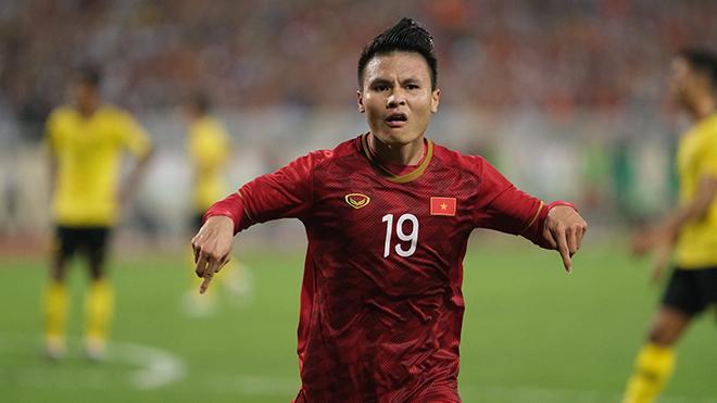 Quang Hải và các đồng đội nắm nhiều lợi thế để có thể đánh bại UAE tối 14/11. Ảnh: Hoàng Linh