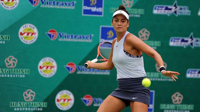 Tay vợt xinh đẹp Alize Lim cũng là một gương mặt giúp giải VĐQG năm nay thêm sức hút. Ảnh: TT
